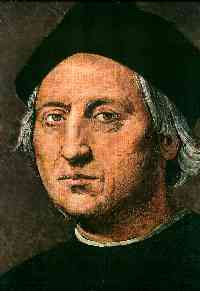 A  portrait of Christopher Columbus