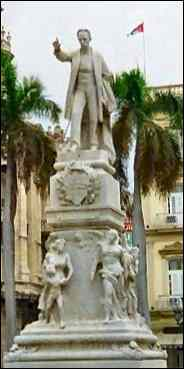 Statue of Marti in Havana, by Lina Garcia
