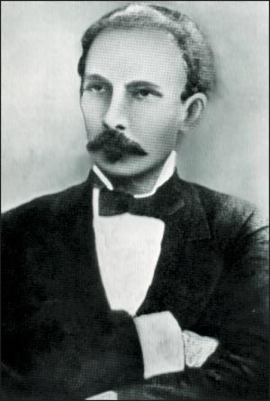 Portrait of Jose Marti
