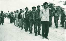 Invading Cuban soldiers captured at Bay of Pigs