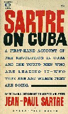Book cover: Sartre on Cuba