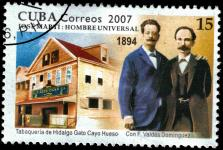 Marti on stamp