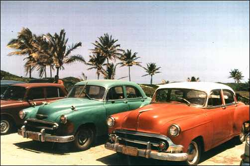 Old Cars In Havana By Tina Panziera